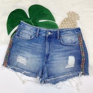 H&M Coachella | Distressed Denim Shorts!